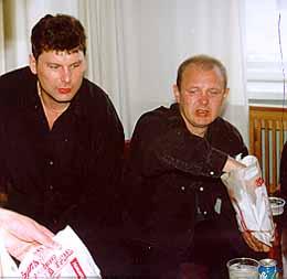 Юрий Хой и Игорь Аникеев